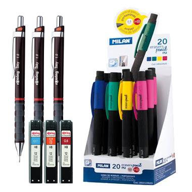 Creioane grafit, mecanice, mine