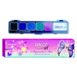 Acuarele pentru piele si fata Aquacolor Art