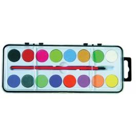 acuarele scolare memoris 16 culori