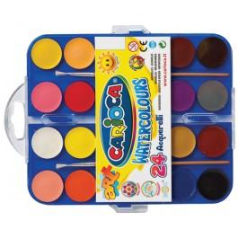 acuarele pastile milan 24 culori