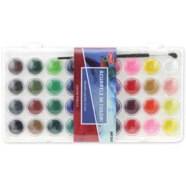 Acuarele pastile Daco 36 culori 23mm