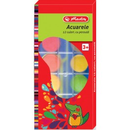 Acuarele pastile Herlitz 12 culori