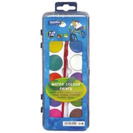 Acuarele pastile Lambo 12 culori