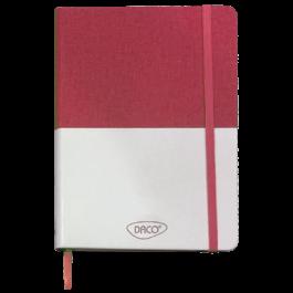 Agenda nedatata A5 160 pagini Daco AN503RZ - roz