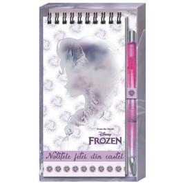 Bloc notes cu pix Daco Frozen
