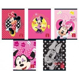caiet a4 80 file minnie mouse matematica