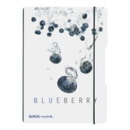 Caiet My.Book Flex Herlitz A5 2x40f dictando+matematica Fresh Fruit Afine