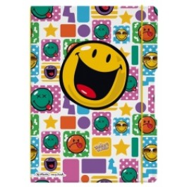 Caiet My.Book Flex Herlitz A4 2x40f dictando+matematica Smiley Happy