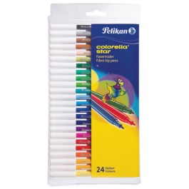 Carioci Colorella Pelikan 24 culori / set