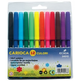 Carioci Ecada 12 culori