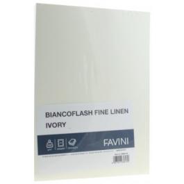 Carton carti de vizita A4 250g Favini - ivory texturat