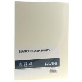 Carton carti de vizita A4 300g Favini - ivory neted