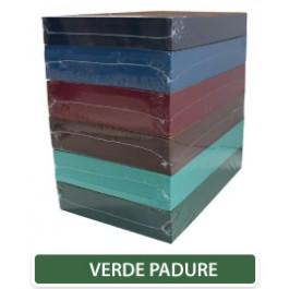 Carton colorat A4 160g - verde padure