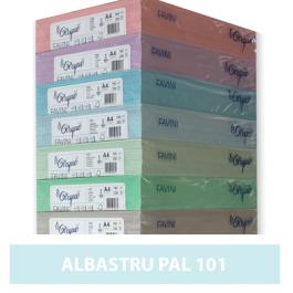Carton colorat A4 160g Favini 101 - albastru pal
