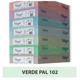 Carton colorat A4 160g Favini 102 - verde pal