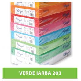 Carton colorat A4 160g Favini 203 - verde iarba