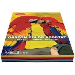 carton colorat asortat a4