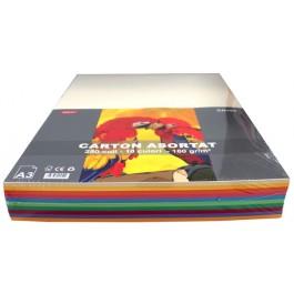 Carton colorat asortat A3 160g 10 culori 250 coli