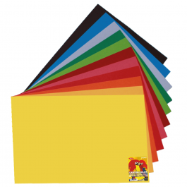 Carton color 50x65cm 240g/mp Daco - 12 culori