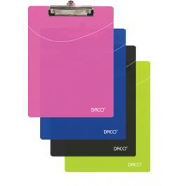 Clipboard plastic simplu A4 Daco
