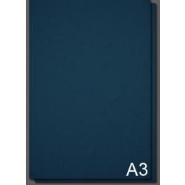 Coperta carton imitatie piele A3 Albastru Navy