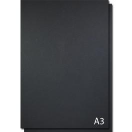 coperta carton imitatie piele a3 negru