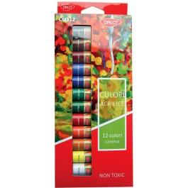 Culori acril Daco 12 culori 12ml