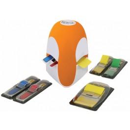 dispenser post-it tridex index portocaliu