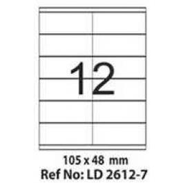Etichete autoadezive 12 coala 105 x 48 mm