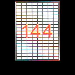 Etichete autoadezive 144 A4 25 x 16 mm