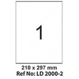 Etichete autoadezive 1/A4 210x297 mm