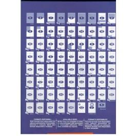 Etichete autoadezive Quick 18/A4 63.5x46.6 mm