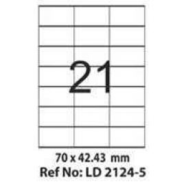 Etichete autoadezive 21 coala 70 x 42,43 mm