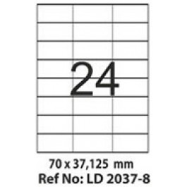 Etichete autoadezive 24/A4 70x37.125 mm