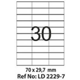 Etichete autoadezive 30/A4 70x29.7 mm