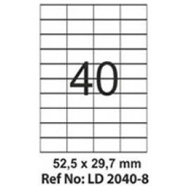 Etichete autoadezive 40/A4 52.5x29.7 mm