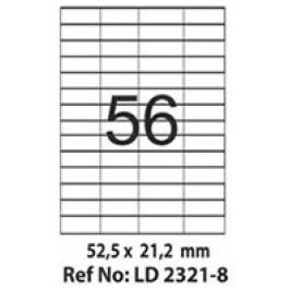 Etichete autoadezive 56/A4 52.5x21.2 mm