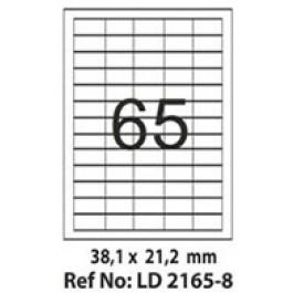 Etichete autoadezive 65/A4 38.1x21.2 mm