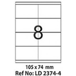 Etichete autoadezive 8/A4 105x74 mm