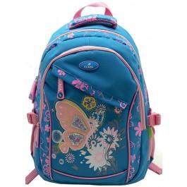 Ghiozdan Ecada 61173 Blue Butterfly