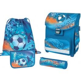 Ghiozdan ergonomic echipat Herlitz Smart Plus Soccer