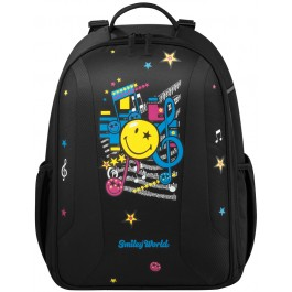 Ghiozdan ergonomic Herlitz Be.Bag Airgo Smiley World Pop