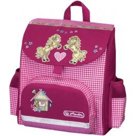 Ghiozdan gradinita ergonomic  Herlitz Mini Softbag Pony Farm