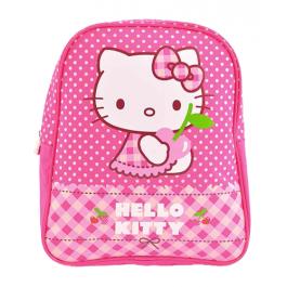 Ghiozdan gradinita Hello Kitty roz