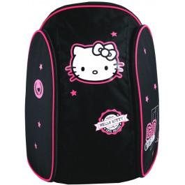 Ghiozdan Hello Kitty Negru Roz