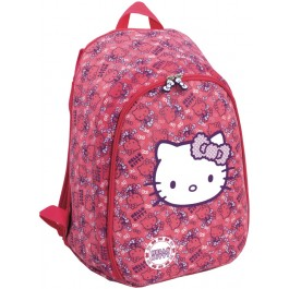 Ghiozdan Hello Kitty Pink 3D