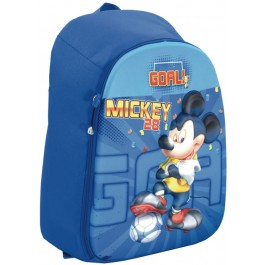 Ghiozdan Mickey Mouse Blue 3D