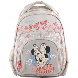 Ghiozdan prescolari Minnie Mouse White