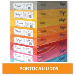 Hartie colorata A4 80g Favini 205 - portocaliu