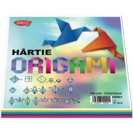 hartie origami colorata